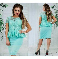 👗 Μπλε κομψή φορεσιά p50