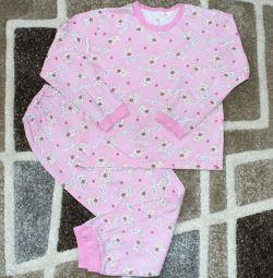 Lightweight pajamas 116-122 cm
