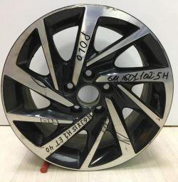 Alloy wheel Volkswagen Polo R15 oem 6ru601025h (scuff) (defect) (class 3)