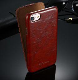 İPhone 7'de Flip Case (2 renk)