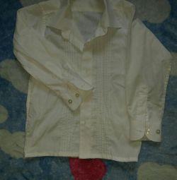 Shirt for matinees in kindergarten, height 110