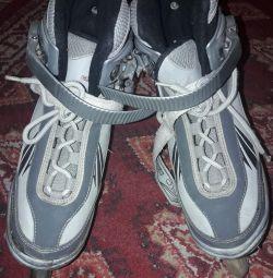 Used roller skates