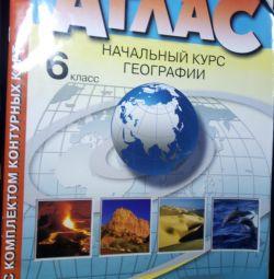Atlas of Geography. 6th grade