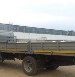 Transport de marfă La bord 6 metri