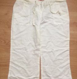 Linen breeches