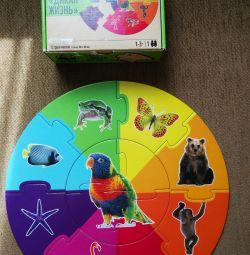 Puzzle de la 1-3 ani