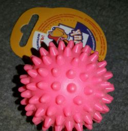 Ball pentru un câine pentru 2 kg de zahăr
