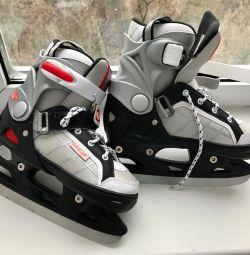 Skates on a boy