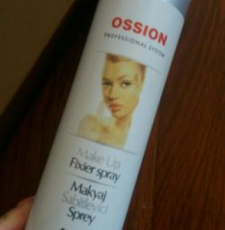 Spray for make-up