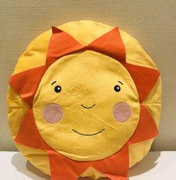 Dekoratif yastık Güneş
