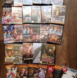 Filmler ve TV şovları dvd