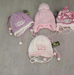 hats for girls p.42-44 demi-season