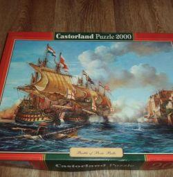 Пазлы Castorland 2000 Battle of Porto Bello