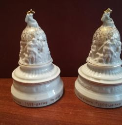Porcelain figurine 1000 years monument of Russia Novg