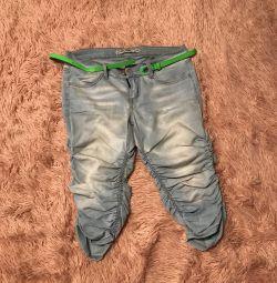 Denim breeches