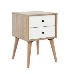 COMBINED OLIVER HM2225 NATURAL-WHITE 40X40X60 cm.