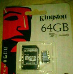 Κάρτα μνήμης Kingston 64 Gb