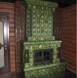 Tiles for a fireplace