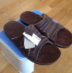 Новые сандали натуральная кожа