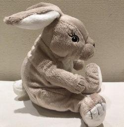 Мягкая игрушка. Кролик. Новый.
