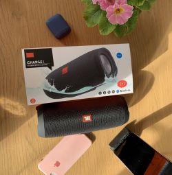 ✅Οθόνη Bluetooth JBL Φορτίστε ασύρματο ηχείο