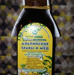 Tamba Alpine βότανα και σαμπουάν μελιού
