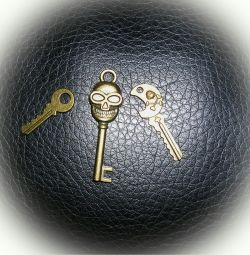 Minik anahtarların mini koleksiyonu