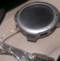USB Heater + Hub WM 200