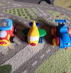 Primele mașini la copil