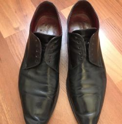 Boots for men. Genuine leather. France