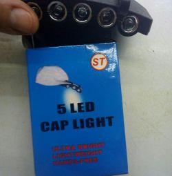 Ліхтарик на кепку