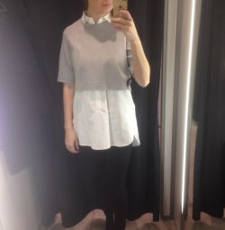 Shirt 2in1 zara