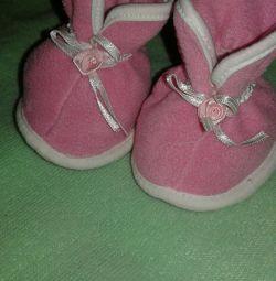 Șosete pentru papuci noi.