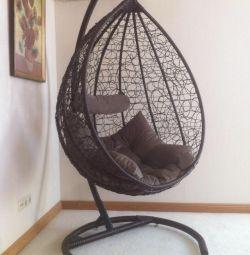 Askıya alınmış sandalye
