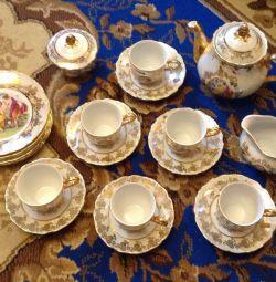 set de ceai Madonna, Franța