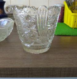 Vaza de cristal