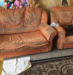 Sofa two chairs
