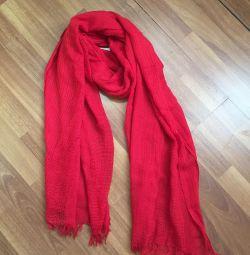 Red stole Zara