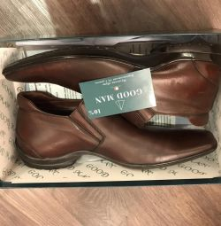 Δερμάτινα παπούτσια Goodman, 39ρ, осень