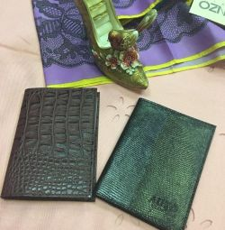 (New) Covers for autodocuments from Nath. leather