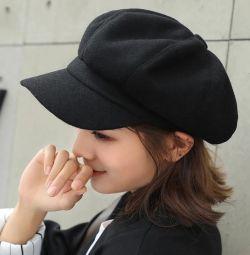 Șapcă Newsboy (șapcă poștaș) 🖤