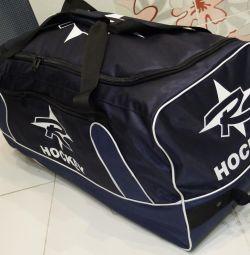 Хоккейный баул спортивная сумка. Доставка