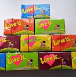 Τσίχλα Η αγάπη είναι (αγάπη είναι) 100 τεμ