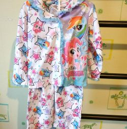 Pajamas for girl my little pony.