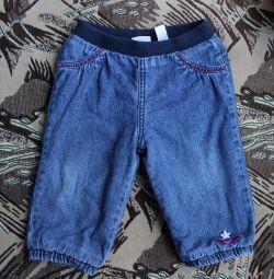 Jeans warm, 9-12months.