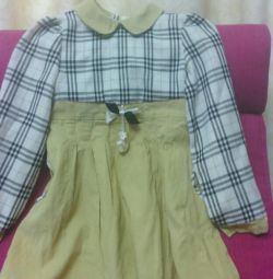 Dress for girls 4-6 years old