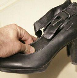 παπούτσια, γνήσιο δέρμα, περιοχή 38, Ιταλία