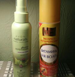 Укрепление волос, витамины доя волос