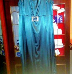 Платье в пол, большое