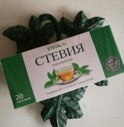 Çay poşetleri içinde Stevia 🍀 (20 adet)